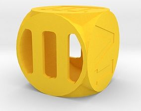 Dice game luck 3D print model