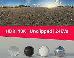 3D HDRi Beach and sunset exterior