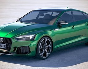 Audi RS5 Sportback 2018 3D
