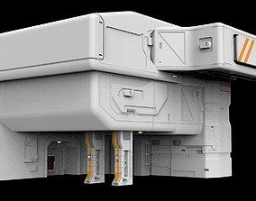 3D model Architectural element 9