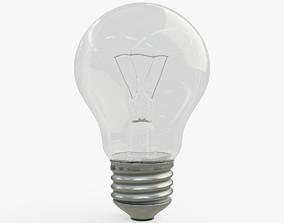 3D asset game-ready Light Bulb