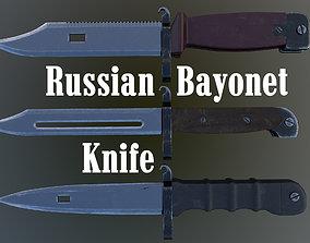 3D model Russian Bayonet Knife