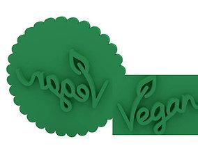 Cookie stamp - Stamp 3D print model