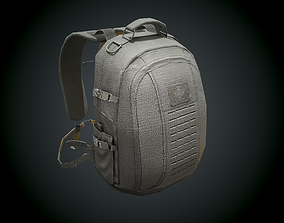 Low Poly Tactical Back Pack 3D model