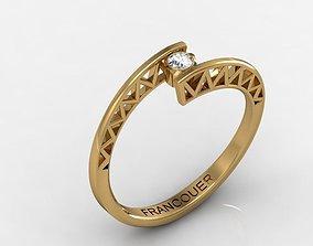 3D print model Ring for women MFS0053