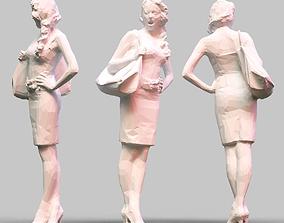 statue Girl Posing 3D printable model