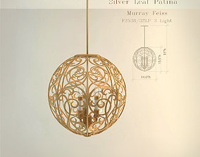 3D model Feiss F2538 chandelier