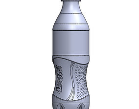 bottle 3D printable model coca