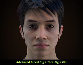 3D model Cinematic Male 003 - Advanced Body Rig - Face 2