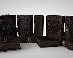 Grimoire A book of magic 3D model