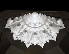 3D model muqarnas gate