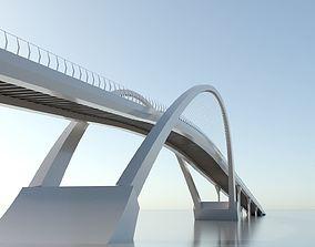 Arch Bridge 3D model arch