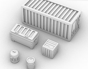 Containers Pack 3D print model