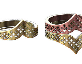 3D print model Moroccan beldi moucharabieh ring