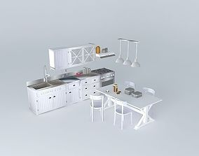 Newport cooking houses of the world 3D model