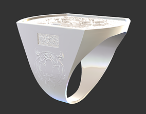 3D printable model elegant Ring 12