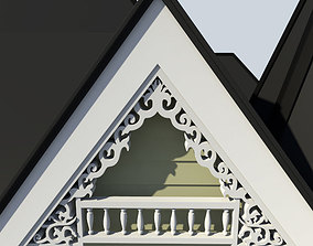 Gable Decoration 1 3D model