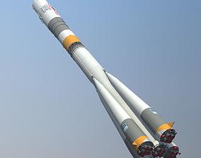3D model Soyuz FG Rocket