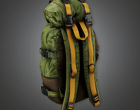 3D asset BHE - Parachute Bag - PBR Game Ready