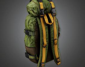 3D asset Parachute Bag BHE - PBR Game Ready
