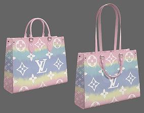 Louis Vuitton Bag Onthego Giant Monogram Pastel 3D model
