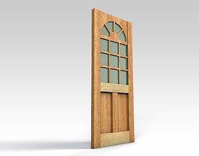 3D Entrance door - with window