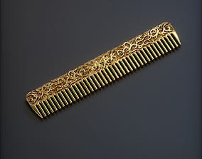 jewelry hair comb 3D print model