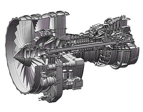 SolidWorks cfm56-7b Complete model