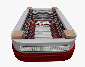 3D asset Ice Hockey Stadium