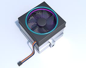 3D LED CPU Cooler