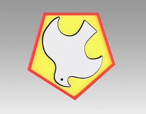 Peacemaker logo Emblem 3D printable model