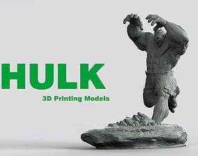 3D print model HULK He is always angry