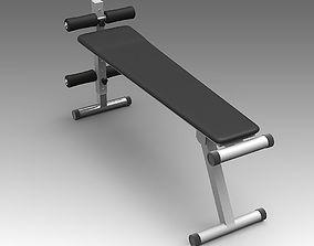 Gym Bench 16 3D