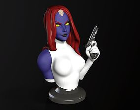 Mystique Bust 3D printable model