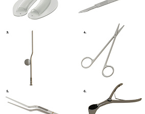 Medical instrument 3D model
