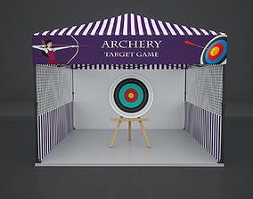 Archery Carnival Game 3D model