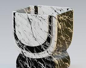 3D model Garden urn planter43
