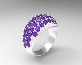Jewelry ring for women 3d model for print