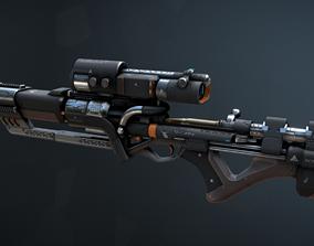 3D model Ronan Rifle