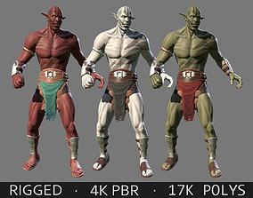 3D asset Orc Character