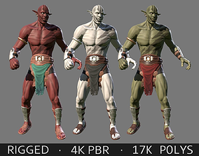 3D asset Orc Character