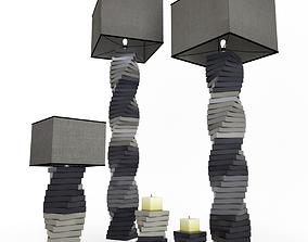 Lamps Step 3D