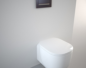 Pozzi Ginori Toilet 500 3D model