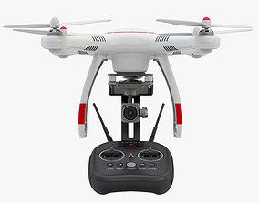 Drone Autel Robotics X-Star and Controller 8K 3D model