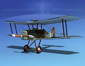 3D model RAF SE5A Fighter V08