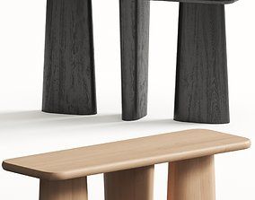 Nera Console Table 3D model