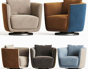 julie armchair fendi casa 3D