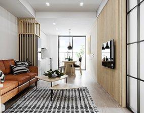 3D Apartment Design 1