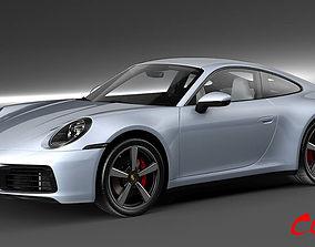 Porsche 911 Carrera 4S 2020 3D