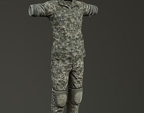 USMC Uniform 3D asset